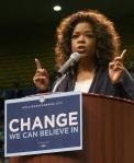 Oprah Winfrey Obama rally