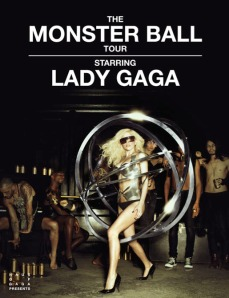 lady gaga monster ball poster